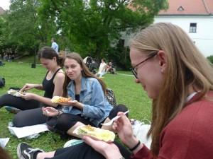 Stuttgartské speciality na Mendlově náměstí