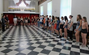 Přijetí na radnici města Brna
