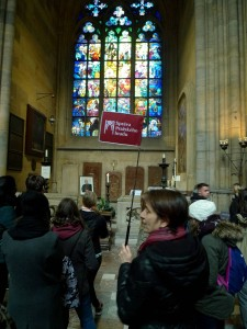 S průvodkyní v katedrále sv. Víta