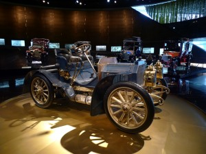 V Mercedes-Benz muzeu