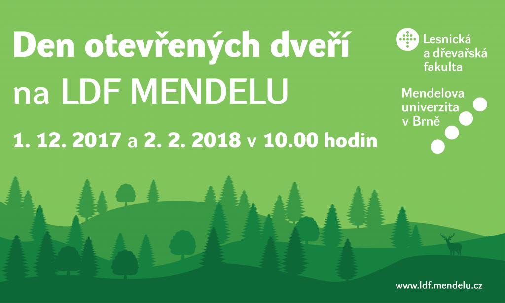 Den otevřených dveří Mendelu