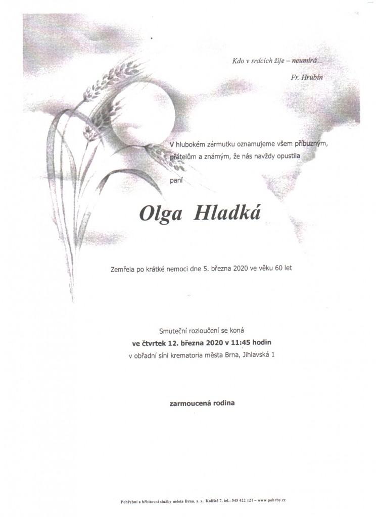 Olga Hladká parte