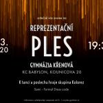 Reprezentační ples Gymnázia Křenová