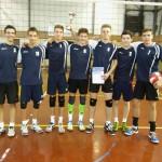 Vítězný volejbalový tým