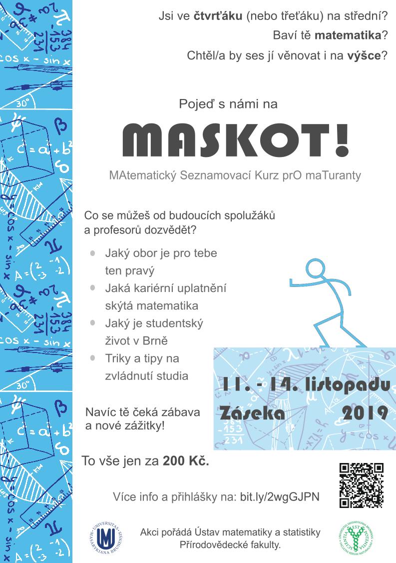 maskot - leták 2019