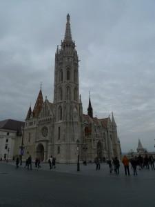 Matyášův chrám, kde byl roku 1867 na uherského krále korunován František Josef I.